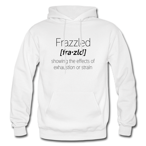 Frazzled Hoodie - White - white