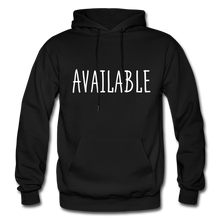Load image into Gallery viewer, Available Hoodie - Black - black
