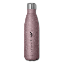 Load image into Gallery viewer, Insulated Stainless Steel Water Bottle Personalized - pink glitter