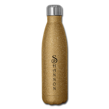 Load image into Gallery viewer, Insulated Stainless Steel Water Bottle Personalized - gold glitter