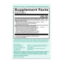 Load image into Gallery viewer, Image of supplement facts for Unwind