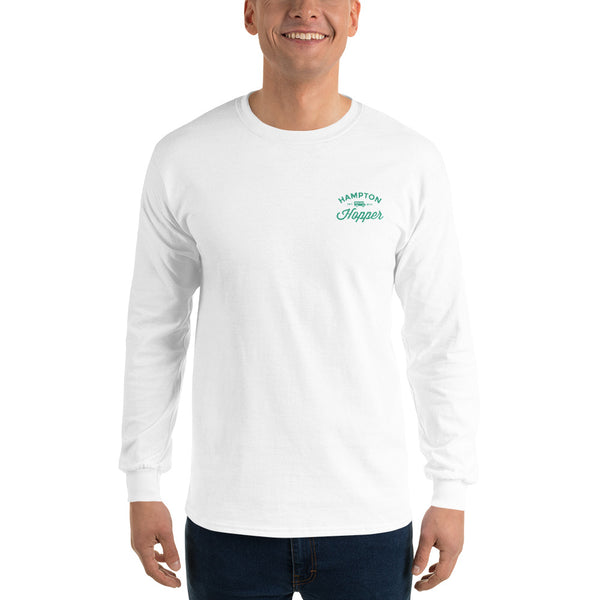 Hampton Hopper Gildan Men's Long Sleeve T-Shirt