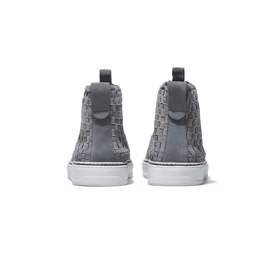 Man High Suede Grey