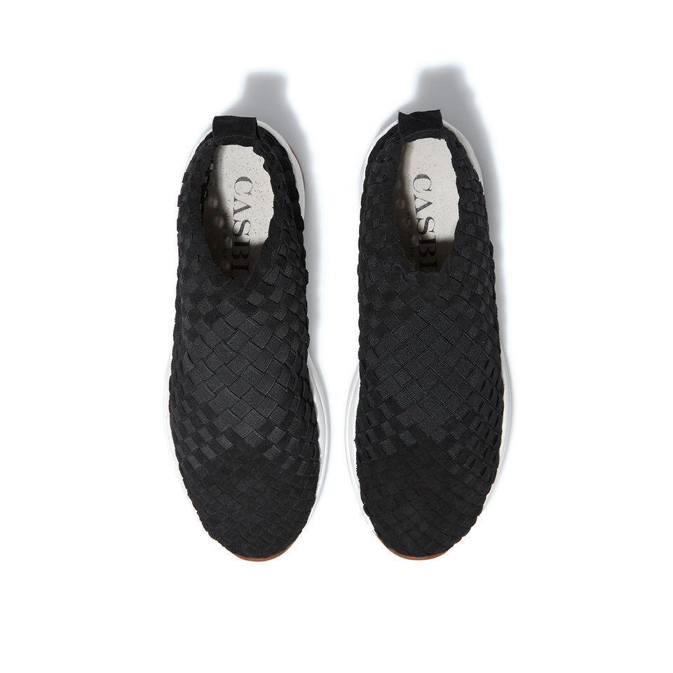 Man Rev Black / White Sole