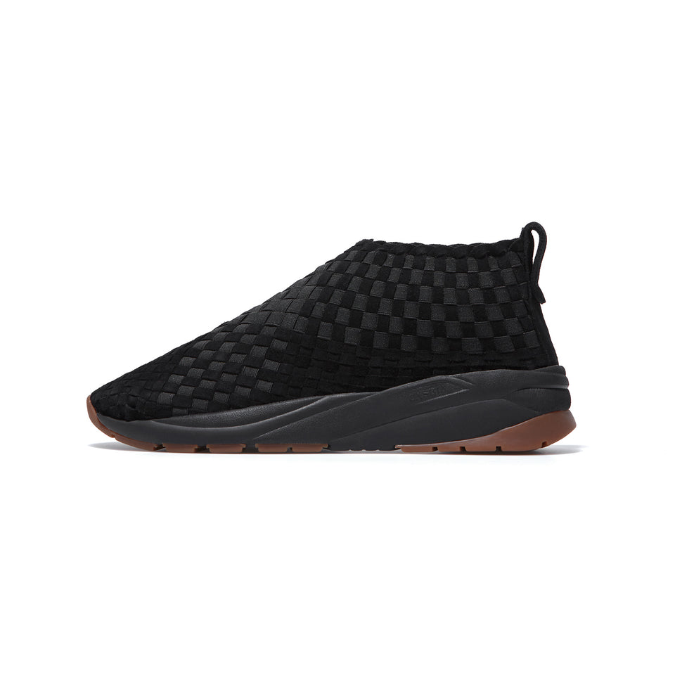 Man Rev	Suede Black / Black Sole