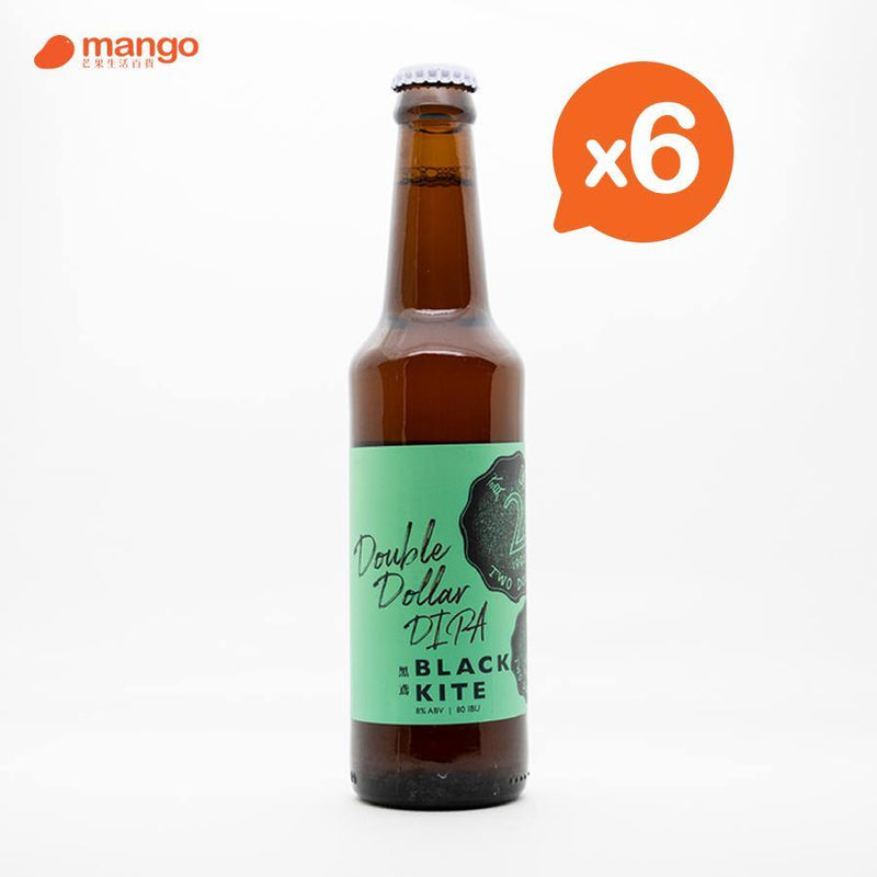 Black kite - Double Dollar DIPA 香港本地手工啤酒 330ml (6樽)
