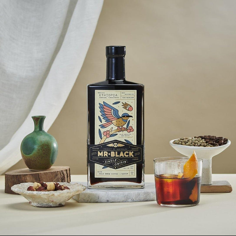 Mr. Black - Ethiopian Single Origin Coffee Liqueur 咖啡酒 700ml -  Mango Store
