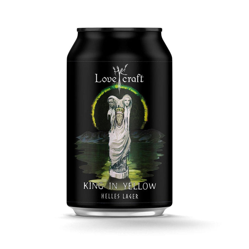 H.K. Lovecraft - King In Yellow Helles Lager 香港手工啤酒罐裝 330ml