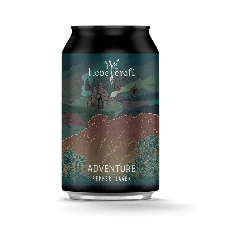 H.K. Lovecraft - Adventure Pepper Lager 限量版香港手工啤酒罐裝 330ml