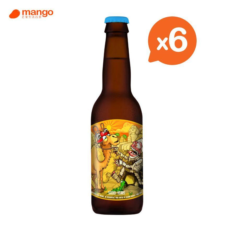Deadman Brewery - 5000 Years 香港手工啤酒 330ml (6樽) -  Mango Store
