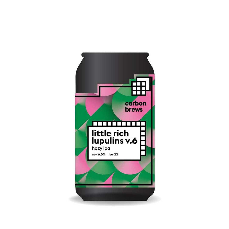 Carbon Brews - little rich lupulins V.6 香港手工啤酒 330ml -  Mango Store