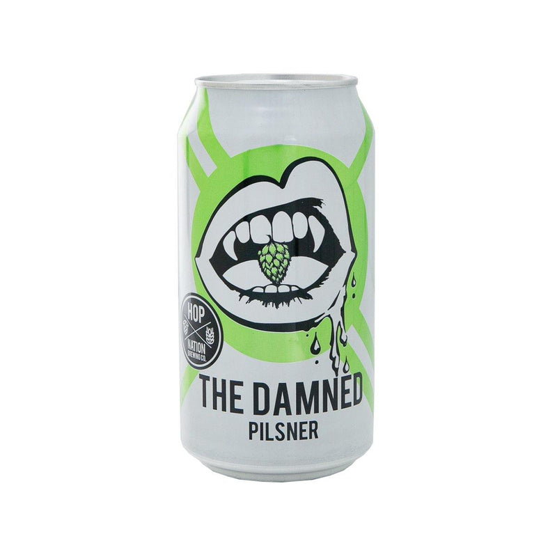 Hop Nation - The Damned Pilsner 澳洲手工啤酒罐裝 375ml
