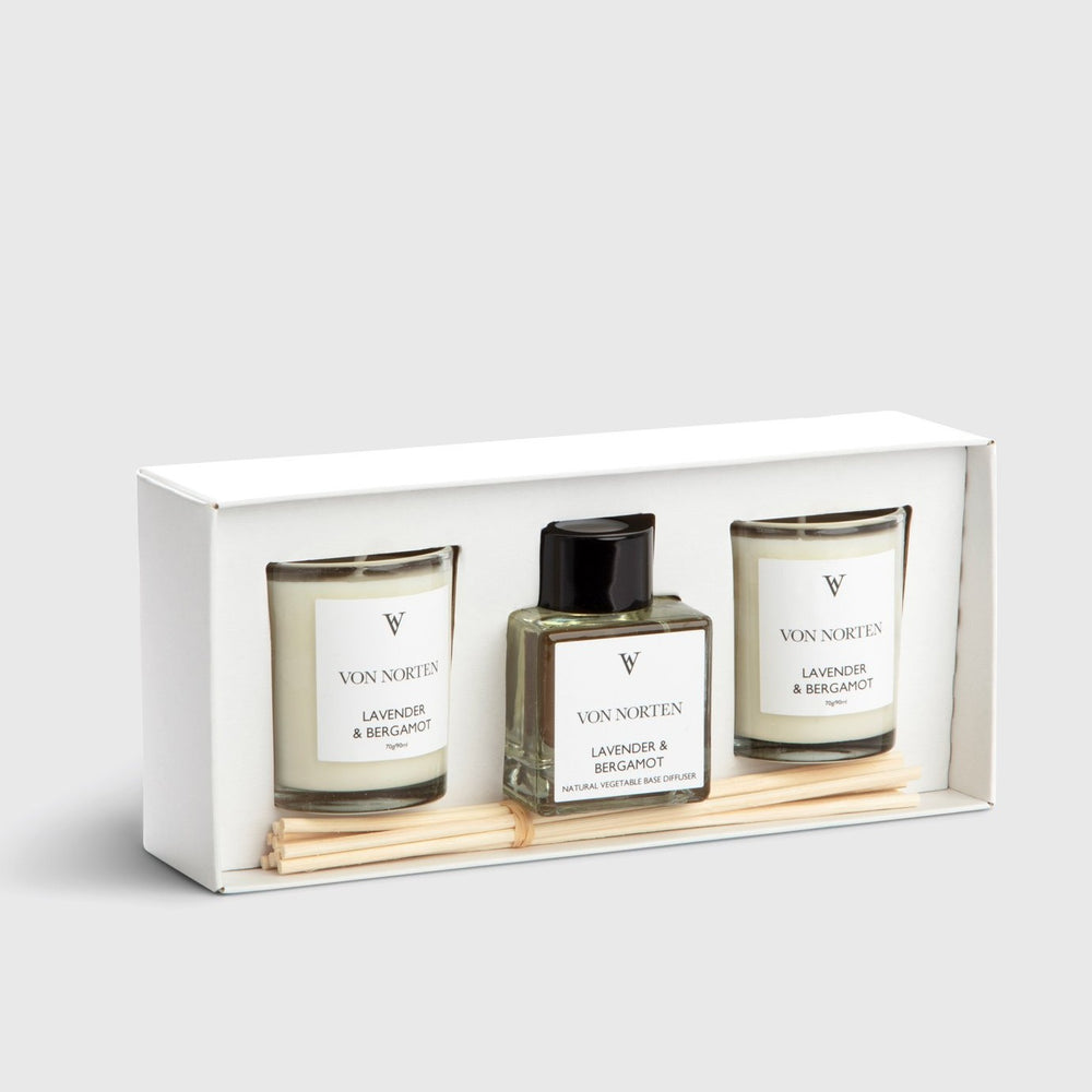 Lavender & Bergamot Gift Set / sold out available to pre-order