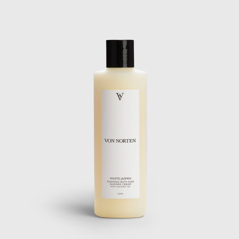 WHITE JASMINE FOAMING SHOWER CREAM