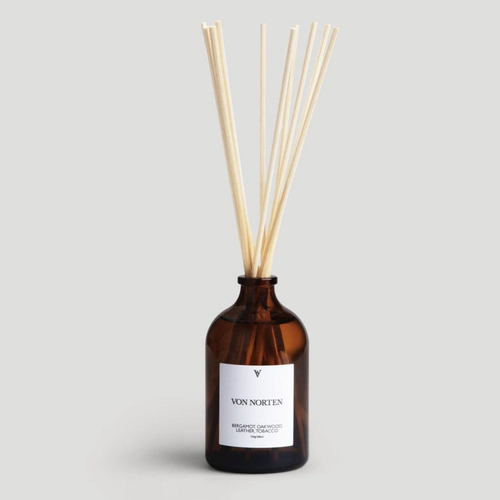 Bergamot, Oakwood, Leather, Tobacco Diffuser