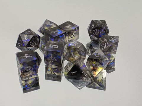 Abyssal Aether 11 Piece Tabletop Gaming Dice Set