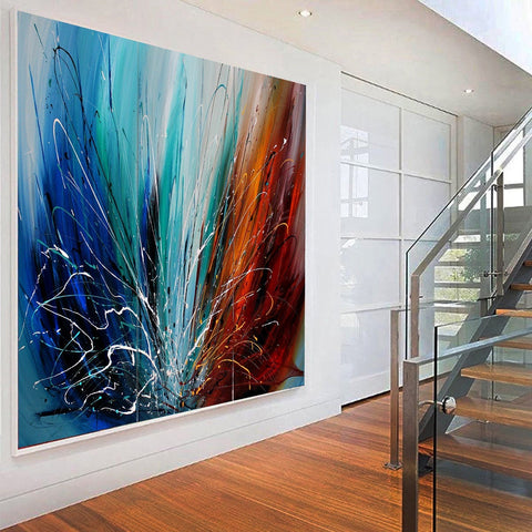 Abstract Paintings for Sale Online | Online Art Gallery‎ - LargeModern Art - LargeModernArt