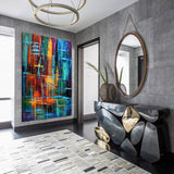 Abstract Art for Sale | Online Art Gallery - Large Modern Art - Visual Illusion - LargeModernArt