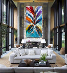 Abstract Modern Art Oil Painting on Canvas Modern Wall Art Amazing Painting - Amazing Abstract 19 - LargeModernArt
