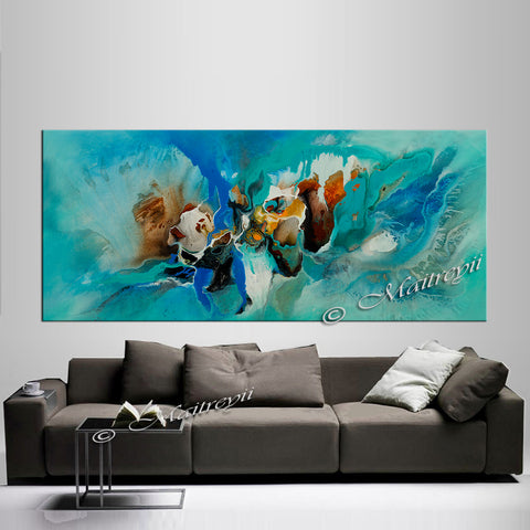 Abstract Modern Art Oil Painting on Canvas Modern Wall Art Amazing Abstract Painting - Amazing Abstract 1 - LargeModernArt