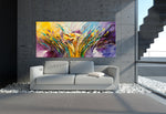 Large Modern Art Oil Painting on Canvas Modern Wall Art - Amazing Abstract 14 - LargeModernArt