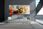 Large Modern Art Oil Painting on Canvas - Modern Wall Art Amazing Abstract 4 - LargeModernArt