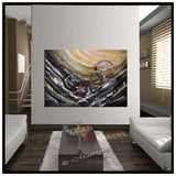 Abstract Paintings For Sale - Cosmic Expansion - LargeModernArt
