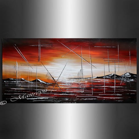 Original Painting - First Sunset - LargeModernArt