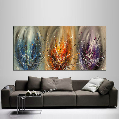 Multicolored Abstract Art For Sale - Glimpse of Light - LargeModernArt