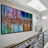 Modern Abstract wall art - Father of Abstract Art, Jackson Pollock Paintings, LargeModern Art - Heavenly Beauty - LargeModernArt