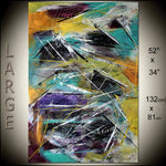 Large Painting Modern Art for sale Online Gallery Original Painting on Canvas - Large Painting 117 - LargeModernArt