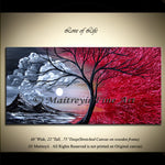 Landscape Paintings For Sale - Love of Life - LargeModernArt