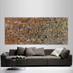 Abstract Angel Paintings | Jackson Pollock Style | Large Modern Art - Luxurious Style -4 - LargeModernArt