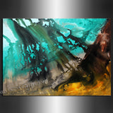 Modern wall Art Decor - Ocean - LargeModernArt