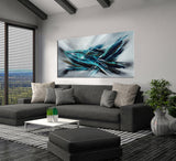 Original art for sale | Buy Abstract Paintings | Large Modern Art - Fighter Plane 3 - LargeModernArt