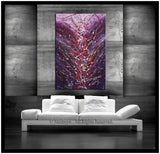 Abstract Painting For Sale Large Oil Painting On Canvas - Luxury Modern Wall Art | Sparkling Beauty 4 - LargeModernArt