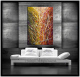 Original Paintings For Sale | Modern Wall Art On Canvas | Sparkling Beauty 5 - LargeModernArt