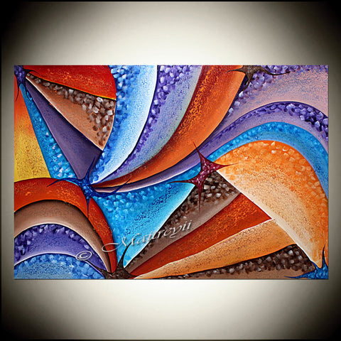 Original Painting - Star Dreams - LargeModernArt