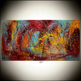 Jackson Pollock Style | Large Modern Art - Treasured Memories - LargeModernArt