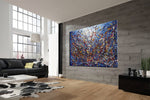 Painting Jackson Pollock Multiple Size Drip Style Abstract art on Canvas, large Wall Art - Vintage Beauty 131 - LargeModernArt