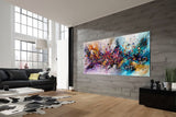 Where to buy Jackson Pollock Style Painting - Large Modern Art - Vintage Beauty 151 - LargeModernArt