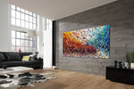 Painting Jackson Pollock Multiple Size Drip Style Abstract Art on Canvas, large Wall Art - Vintage Beauty 152 - LargeModernArt
