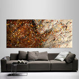 Abstract Paintings For Sale | Jackson Pollock Style | Large Modern Art - Vintage Beauty 111 - LargeModernArt