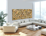 Abstract Angel Paintings | Jackson Pollock Style | Large Modern Art - Vintage Beauty 112 - LargeModernArt