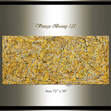 Big Painting for Sale | Jackson Pollock | Large Modern Art - Vintage Beauty 125 - LargeModernArt