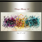 Abstract Angel Paintings | Jackson Pollock Style | Large Modern Art Vintage Beauty 145 - LargeModernArt