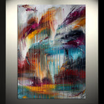 Original Painting Modern Decor - Waterfall Beauty 8 - LargeModernArt