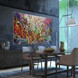 Buy Original Oil Paintings Jackson Pollock Style Large Modern Art for sale - Vintage Beauty 129 - LargeModernArt