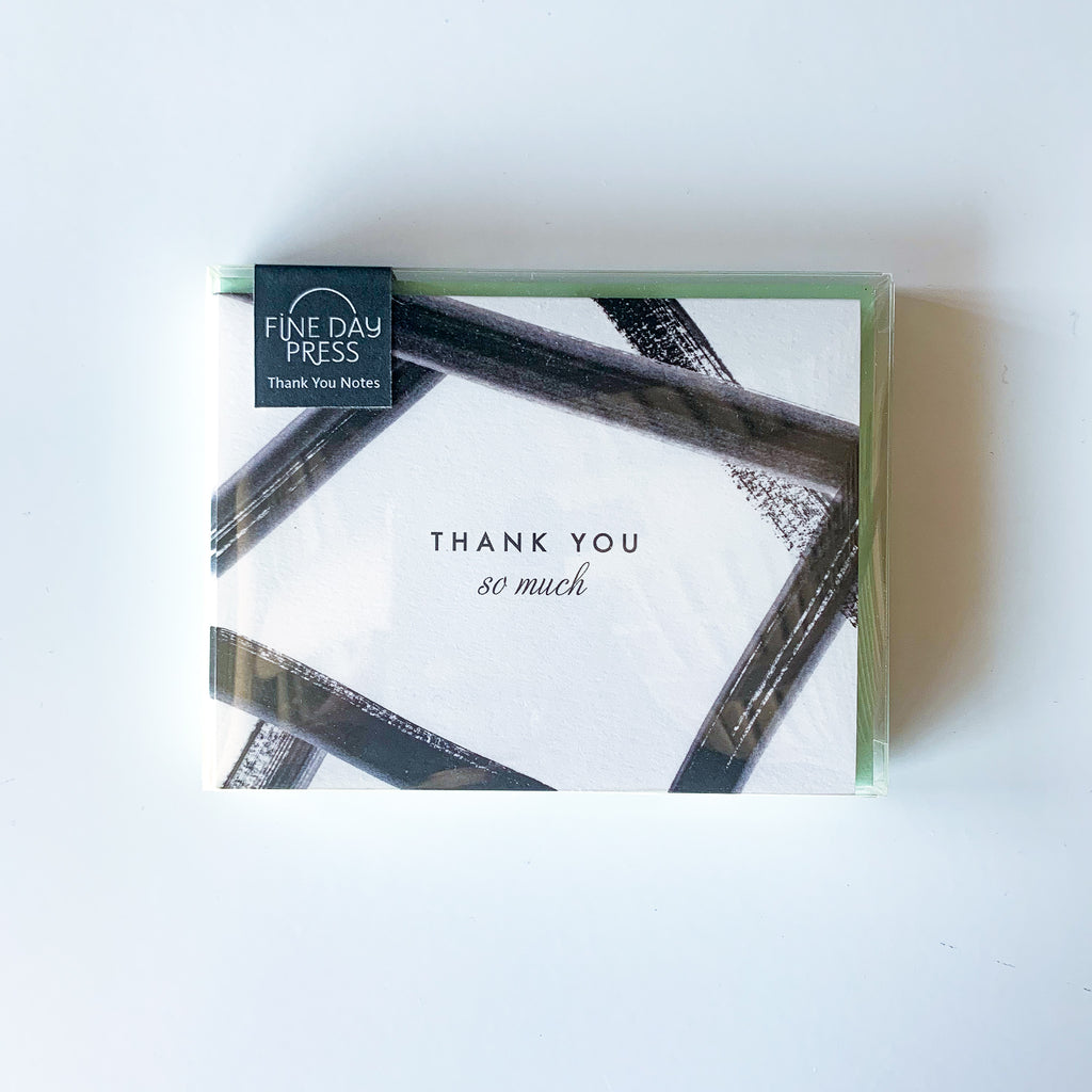 THANK YOU NOTECARD SET - PICK UP / DELIVERY