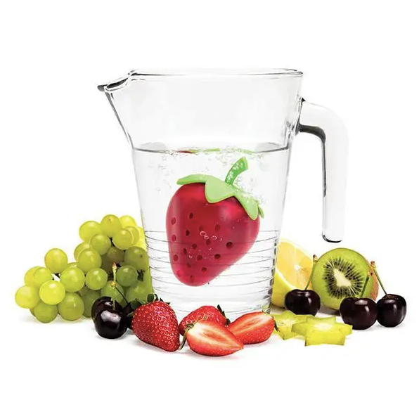 STRAWBERRY TEA INFUSER - TO SHIP